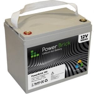 PowerBrick 12V - 100Ah - Lithium Ion