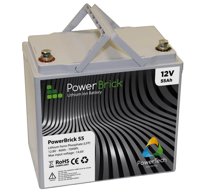 PowerBrick 12V - 55Ah - LFP