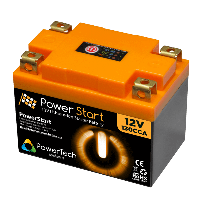 PowerStart 12V Starter Battery - 130CCA