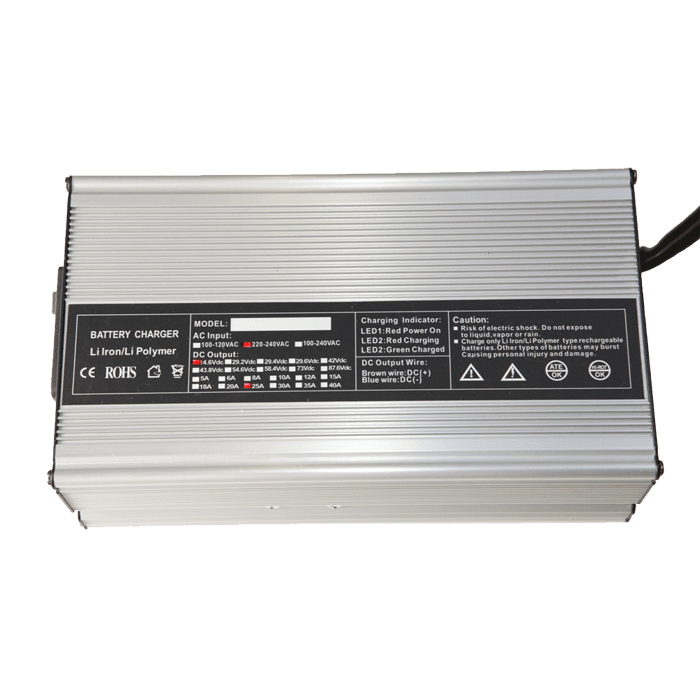 Chargeur 600W-25A pour batterie 12V Lithium Fer Phosphate