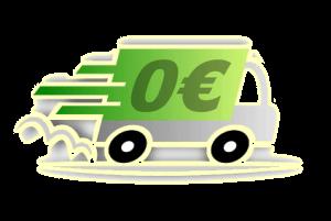 Transport offert des 450 Euros TTC