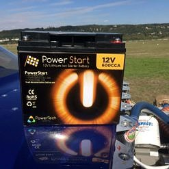 Starter Lithium battery for Van's RV and IO360
