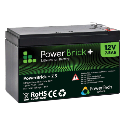 Lithium Ion battery 12V 7.5Ah