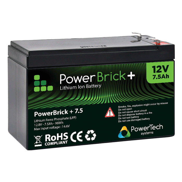 Lithium Ion battery 12V 7.5Ah