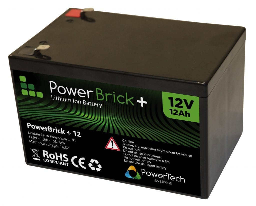 Lithium-Ion battery 12V 12Ah