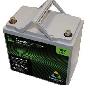 Lithium Ion battery 12V 55Ah