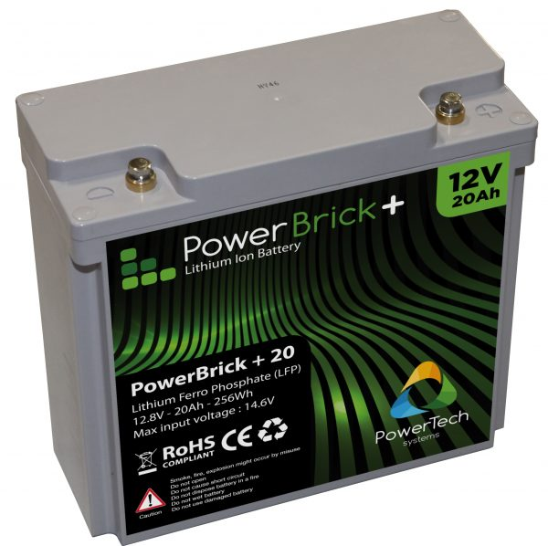 Lithium Ion battery 12V 20Ah