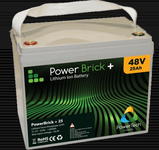 48V-25Ah Lithium battery - LifePO4 - PowerBrick PRO+ 48V-25Ah