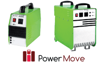 portable generator with lithium ion battery