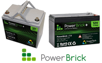PowerBrick lithium ion battery product line