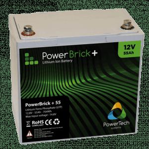 PowerBrick+ 12V 55Ah