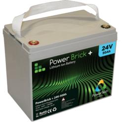 24V Lithium battery packs - PowerBrick®