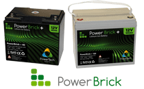 PowerBrick LifePO4 batteries for camper vans