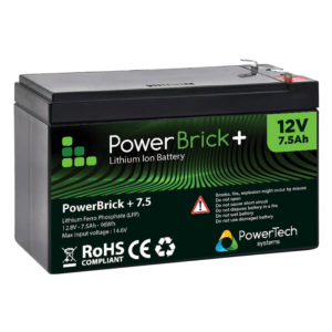 Batterie Lithium Ion 12V 7.5Ah PRO+