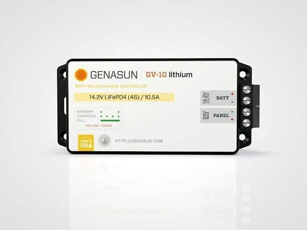 Genasun GV10 Lithium 140W-10A MPPT Solar Controler for 12V Batteries