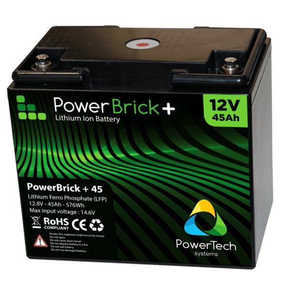 PowerBrick 12V-45Ah Pro 2 years