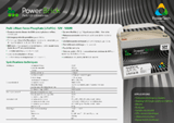 Download PowerBrick 12V 20Ah Specification