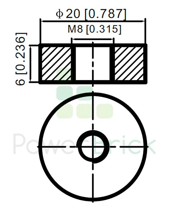 PowerBrick 48V-72Ah - Power Terminal